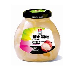 糖水荔枝罐头485g