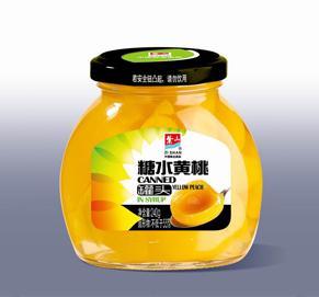 糖水黄桃罐头240g
