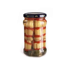 調味(wei)蔬菜串罐頭