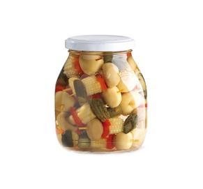 調味(wei)混合蔬菜罐頭