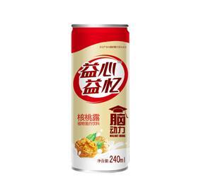 紫山(shan)益心益憶核(he)桃露240ml