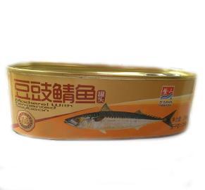 豆豉鲭鱼184G