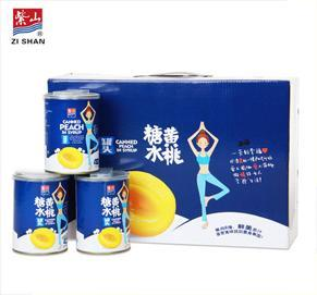 万博体育appios糖水黄桃罐头瑜伽礼盒