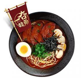 日式番茄豚骨拉面自热面条